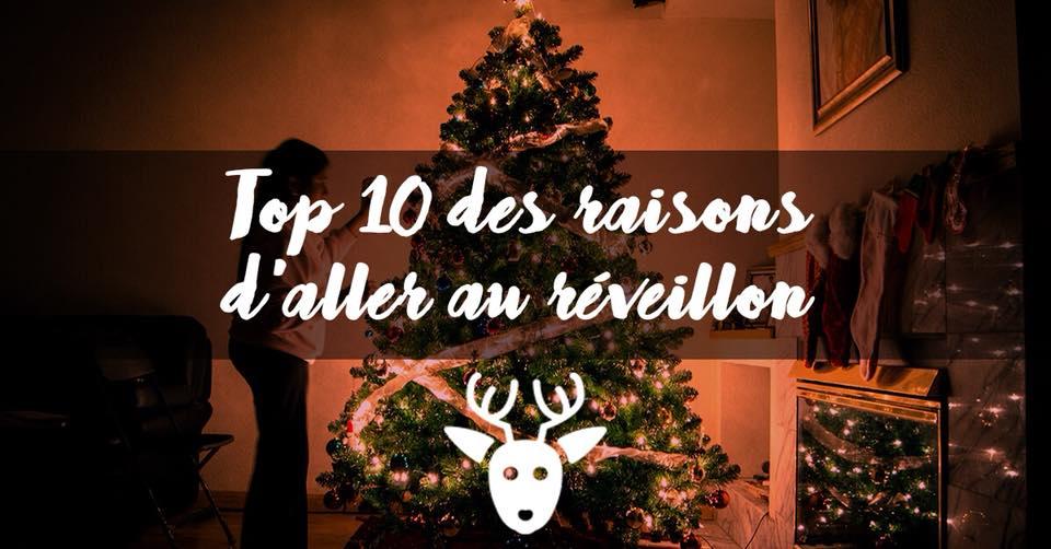 [TOP#9] Les bonnes raisons d'aller au réveillon