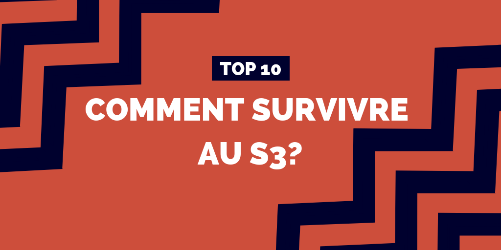 [TOP#11] Comment survivre au S3 ?