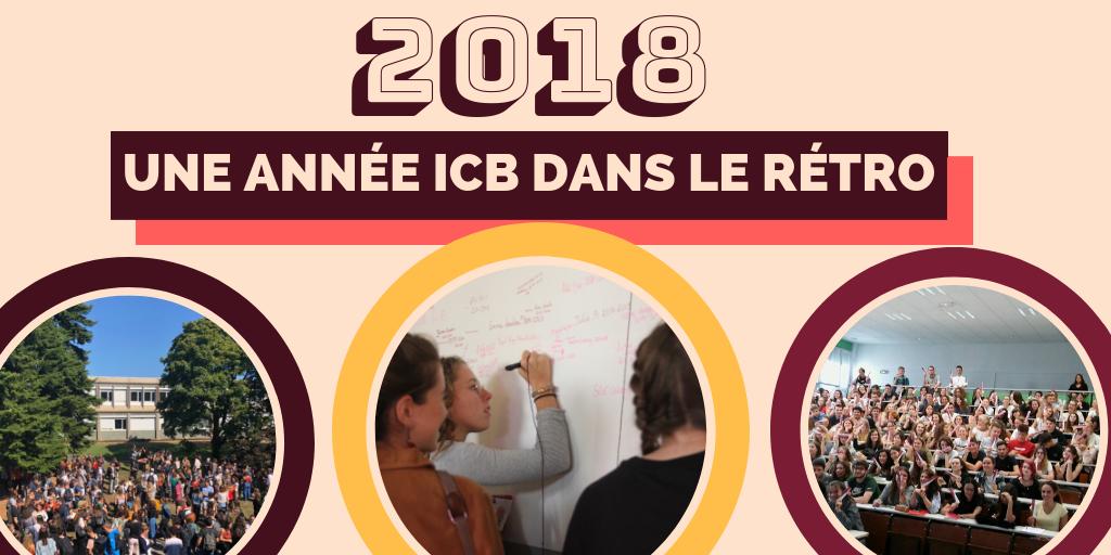 2018 : une année ICB dans le rétro