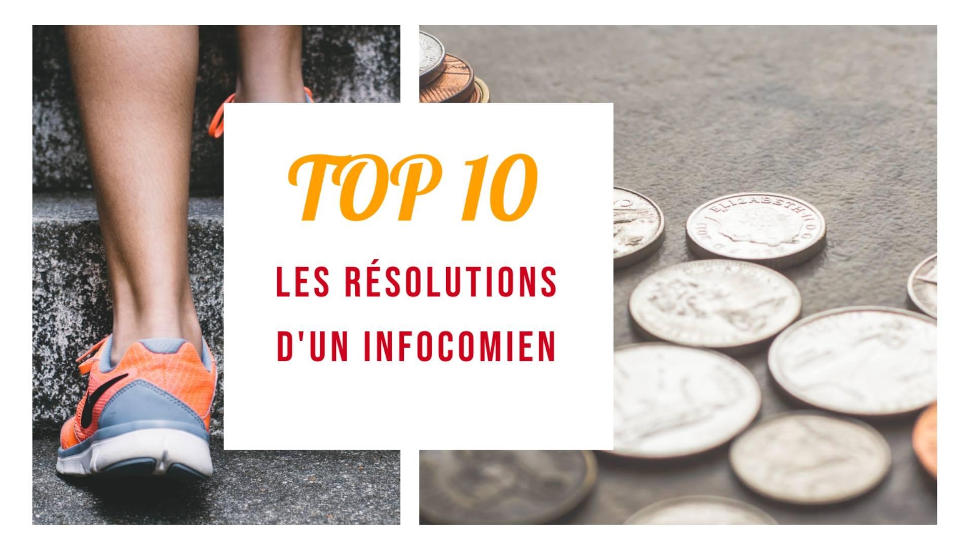 [TOP#12] Les résolutions d'un infocomien