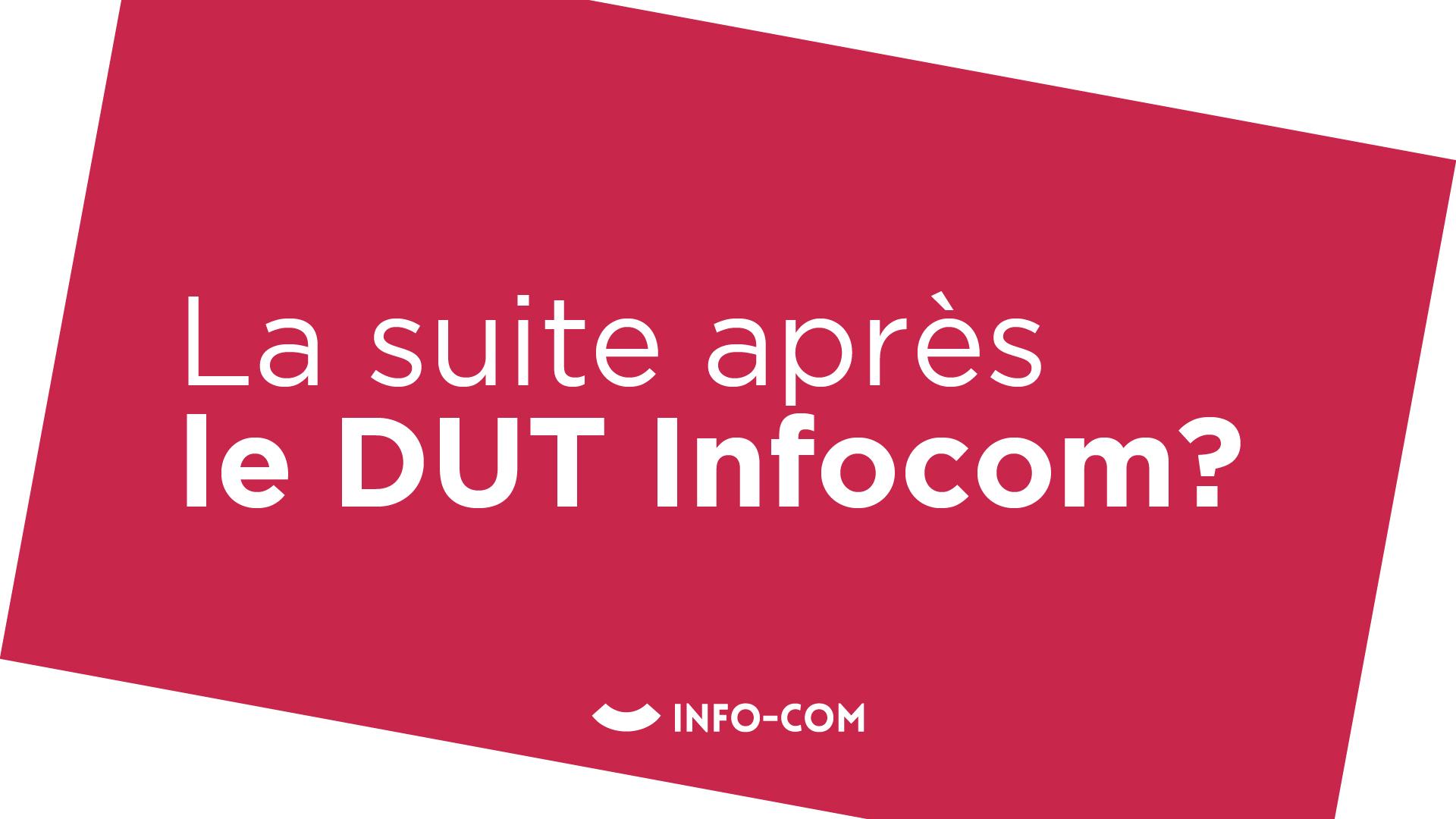 L'orientation après un DUT Infocom